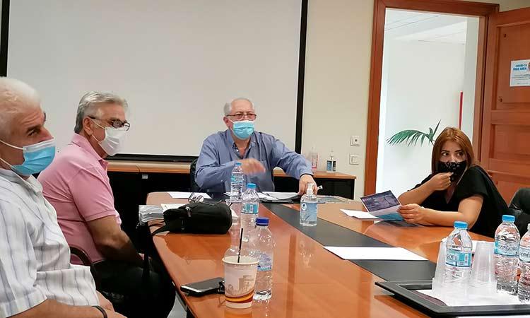 Συνάντηση δημάρχου Αμαρουσίου με τον Σύλλογο Εργατικών Κατοικιών Αμαρουσίου