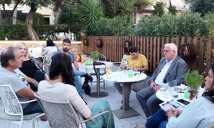 Συγκρότηση Επιτροπής «Green Time» υπό την εποπτεία του αντιδημάρχου Πεύκης-Λυκόβρυσης Π. Ιωάννου