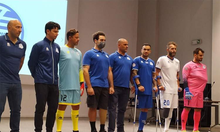 Στο πλευρό της Εθνικής Ομάδας Ποδοσφαίρου ατόμων με ακρωτηριασμό η Περιφέρεια Αττικής και ο ΙΣΑ