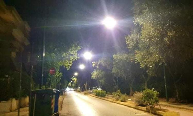 Φωτίστηκε καλύτερα και οικονομικότερα ο Δήμος Χαλανδρίου μέσα στο καλοκαίρι