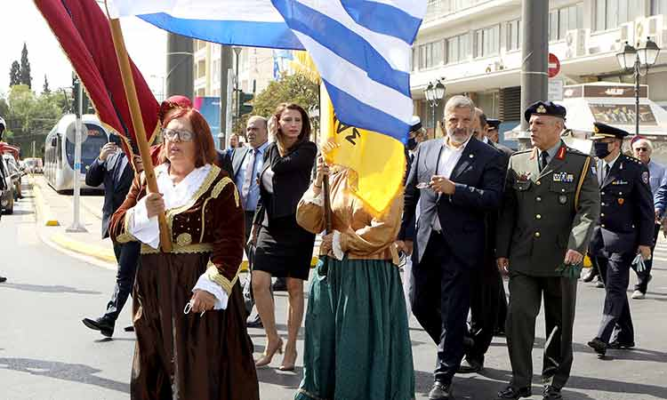 Στις εκδηλώσεις εθνικής μνήμης για τη Γενοκτονία των Ελλήνων της Μικράς Ασίας ο περιφερειάρχης Αττικής