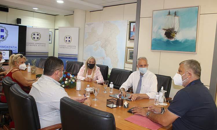Ξεκινούν με χρηματοδότηση της Περιφέρειας Αττικής έργα ασφαλτόστρωσης και αναβάθμισης οδικού δικτύου στις Αχαρνές