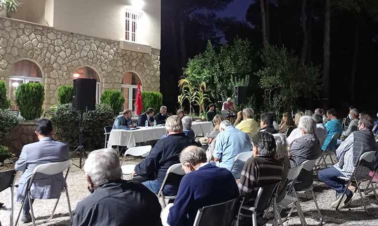 Η πρώτη ανοιχτή εκδήλωση της Ο.Μ. ΣΥΡΙΖΑ-Π.Σ. Κηφισιάς μετά την πανδημία