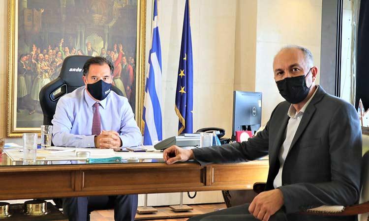 Ο Α. Γεωργιάδης δεσμεύτηκε να συμβάλλει στην ανάπτυξη του Δήμου Μεταμόρφωσης