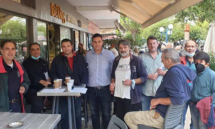 Ενωμένο Μαρούσι: Επτά μήνες έχει να… δει τον κ. Αμπατζόγλου το Πολύδροσο