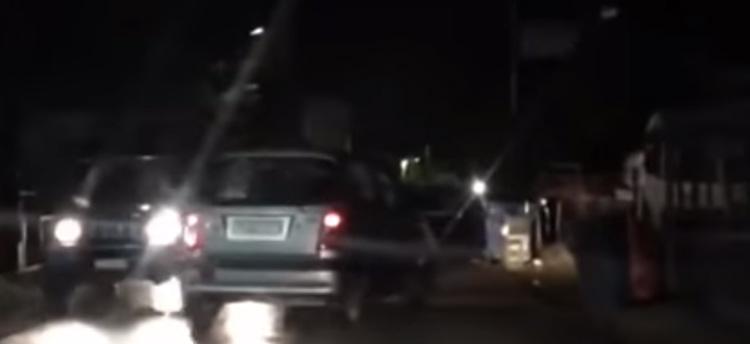 Μεθυσμένος οδηγός οδηγεί στο αντίθετο ρεύμα και σπέρνει τον τρόμο στην Κηφισιά – Δείτε βίντεο