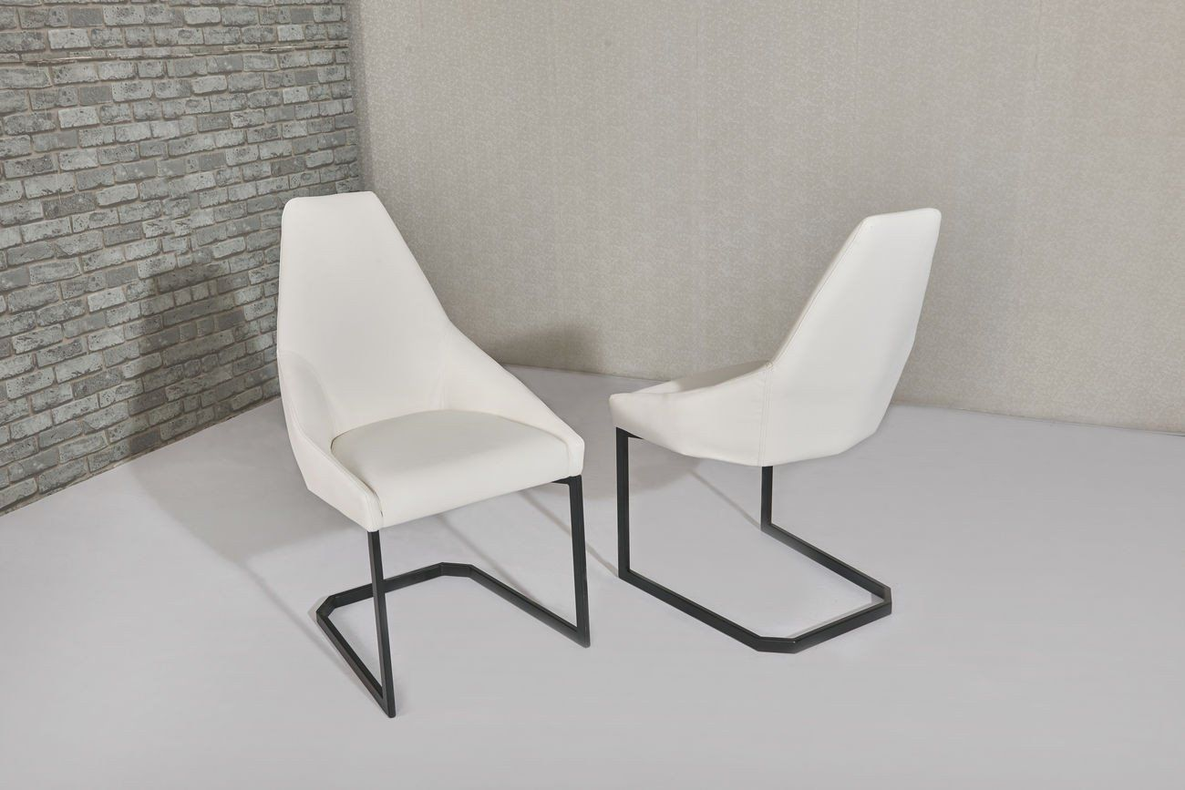 White Dining Chairs Avanti White Dining Chair