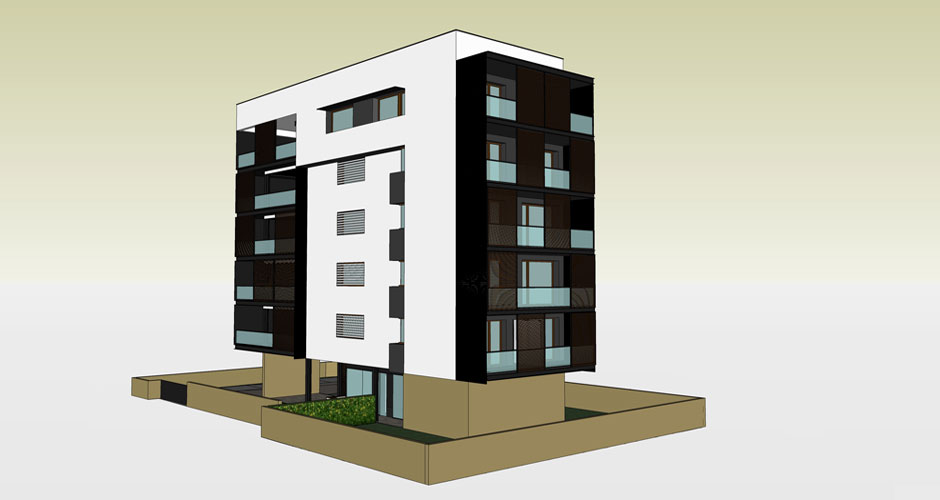 Progettazione chiavi in mano  Progetto di condominio a