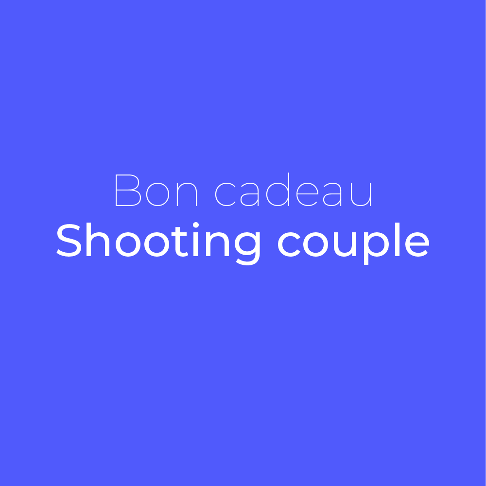 Bon cadeau photographe couples | © Clfd Capture.