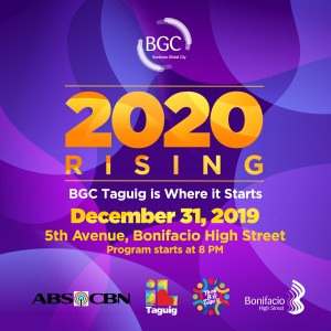 BGC Holds the Biggest Street Party to Welcome 2020