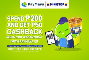 PayMaya Preferred: Get Quick Treats and Sweet Deals When You Use PayMaya QR at Ministop
