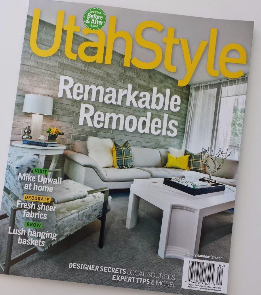 Mentioned In Utah Style U0026 Design Magazine!