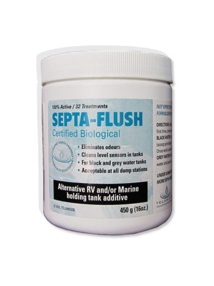 Septa-Flush, additif pour réservoir de VR