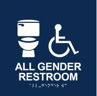 All Gender Bathroom Symbol - Decorating Interior Of Your ...