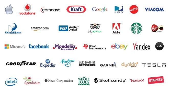 NASDAQ Company Logos