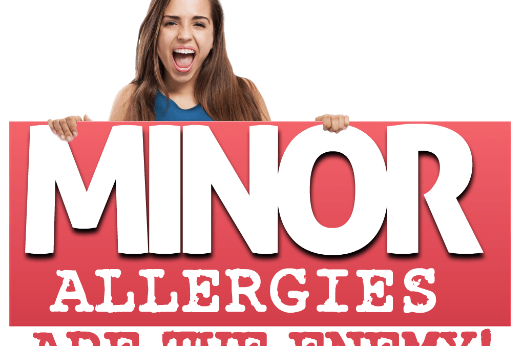 EoE Caused More from MINOR Allergies?