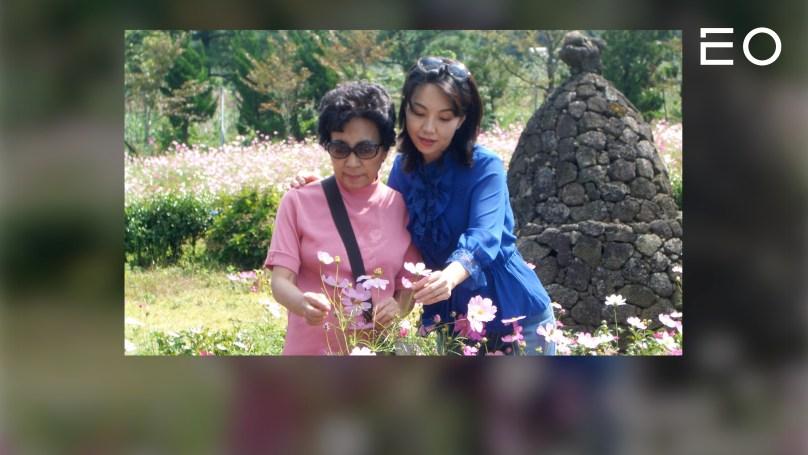 녹색도시연구소 김유민 연구소장과 김유민 연구소장의 어머니