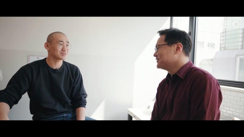 (왼쪽부터) 김동환 대표의 사촌 동생이자 도예가 신수현, 아이디어스 김동환 대표