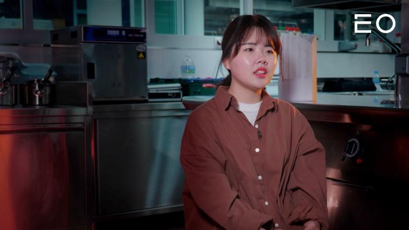 우송대학교 외식조리전공 19학번 김옥현 인터뷰