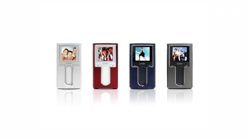 디자이너 김영세가 디자인한 아이리버 MP3