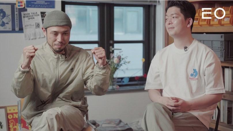 (왼쪽부터) 모빌스 그룹 모춘, 대오 인터뷰