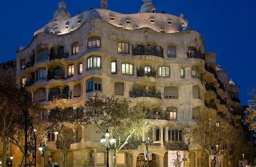 Casa Mila in Barcelona by Diliff