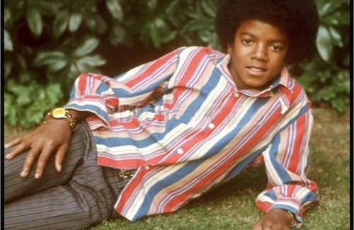 A youthful Michael Jackson years before all the complications
