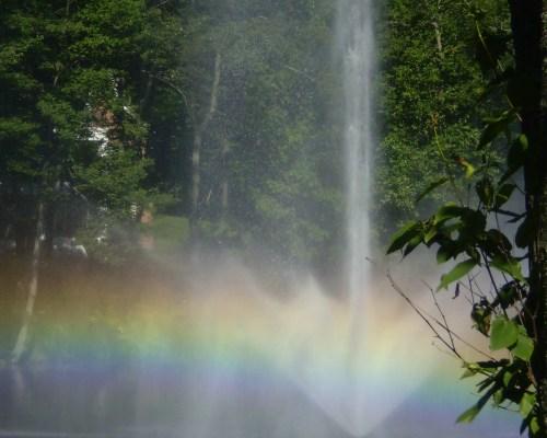 Rainbow Fountain at Ossining Park, NY