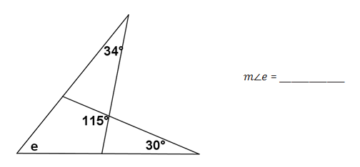 Lesson 1.2.3: Solve for Unknown Angles (Angles in a