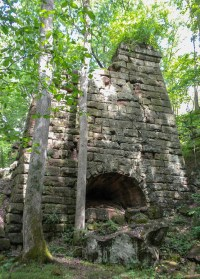 Encyclopedia Of Forlorn Places | Endor Iron Furnace