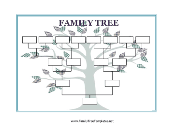 printable family trees and