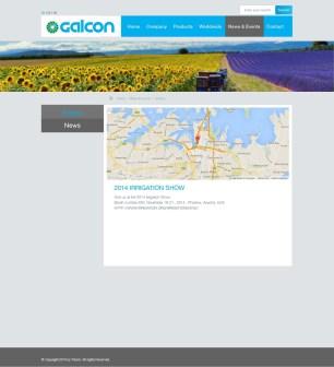 צילום מסך מאתר גלקון חברה בינלאומית למערכות השקיה