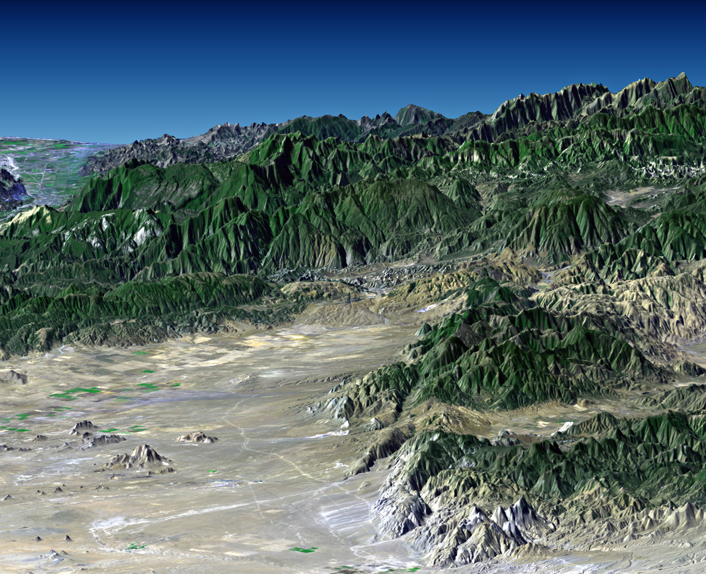 Southern California In 3d Image Of The Day