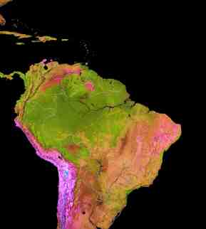 Mapping The Amazon