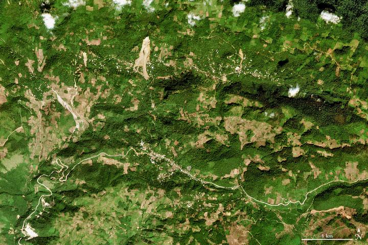 Mapping Landslide Hazards in Central America