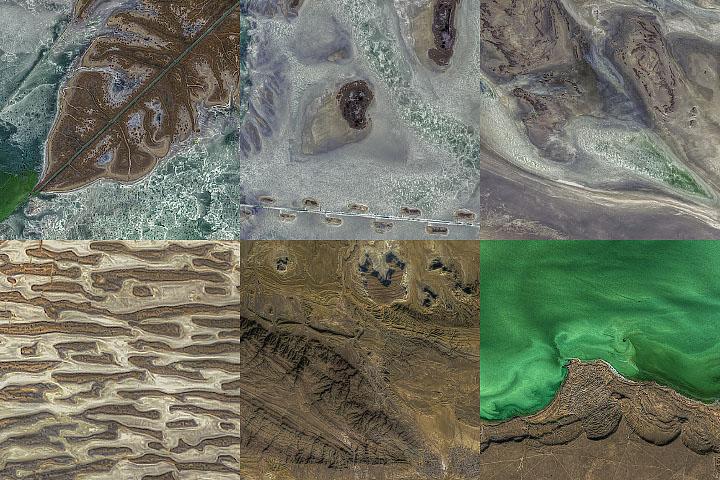 Textures Around the North Caspian