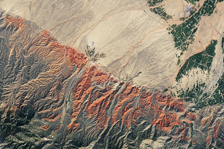 China's Red Rocks and Rainbow Ridges