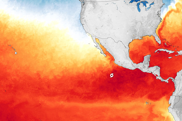 Early Storm in the Eastern Pacific