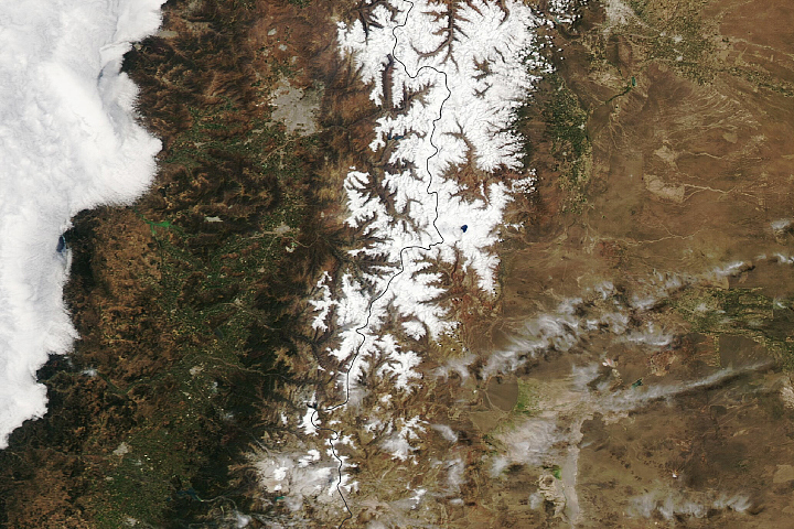 Dual Storms in the Andes Mountains