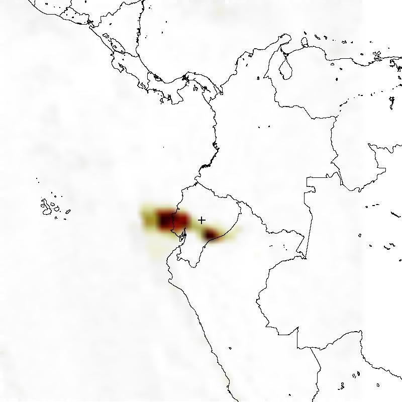 NASA Visible Earth: Tungurahua Volcano in Ecuador