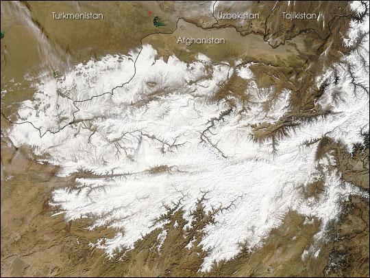 Snow Melting Earth