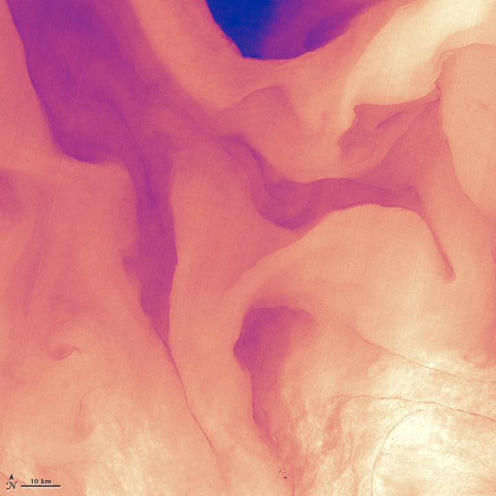 A Lava Lamp Look at the Atlantic