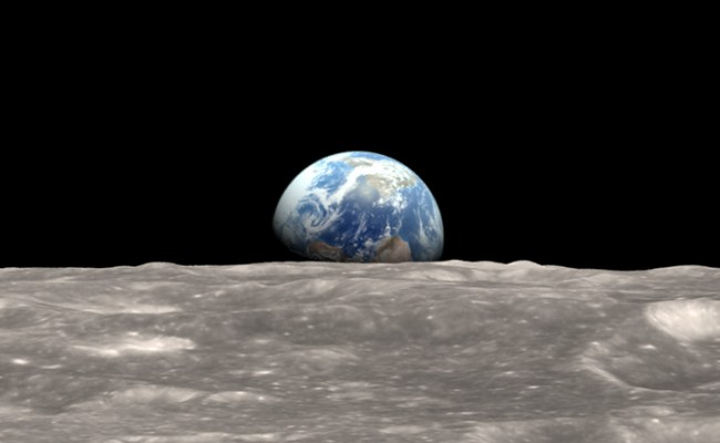 Nasa Visible Earth Earthrise Revisited