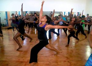 Dance class a ENARTS, Photo by Jarrel Phillips