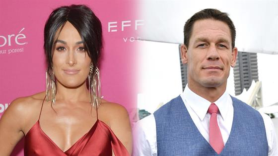 John Cena and Girlfriend Shay Shariatzadeh Make Their Red Carpet Debut 2