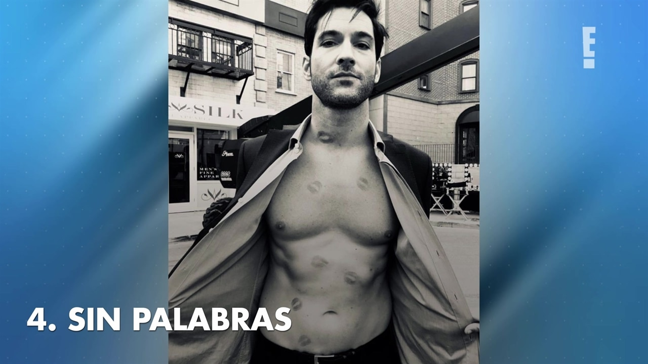 TOP 10 Momentos sexys de Tom Ellis  E News