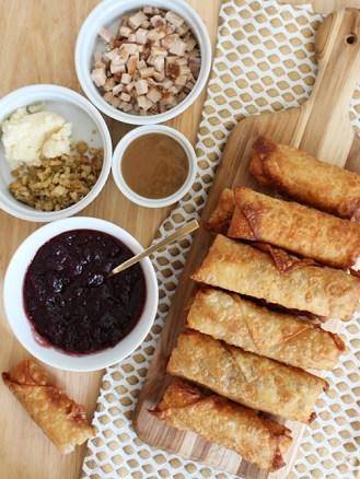 thanksgiving-leftovers-egg-rolls