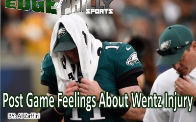 Post Game Feelings About Wentz Injury