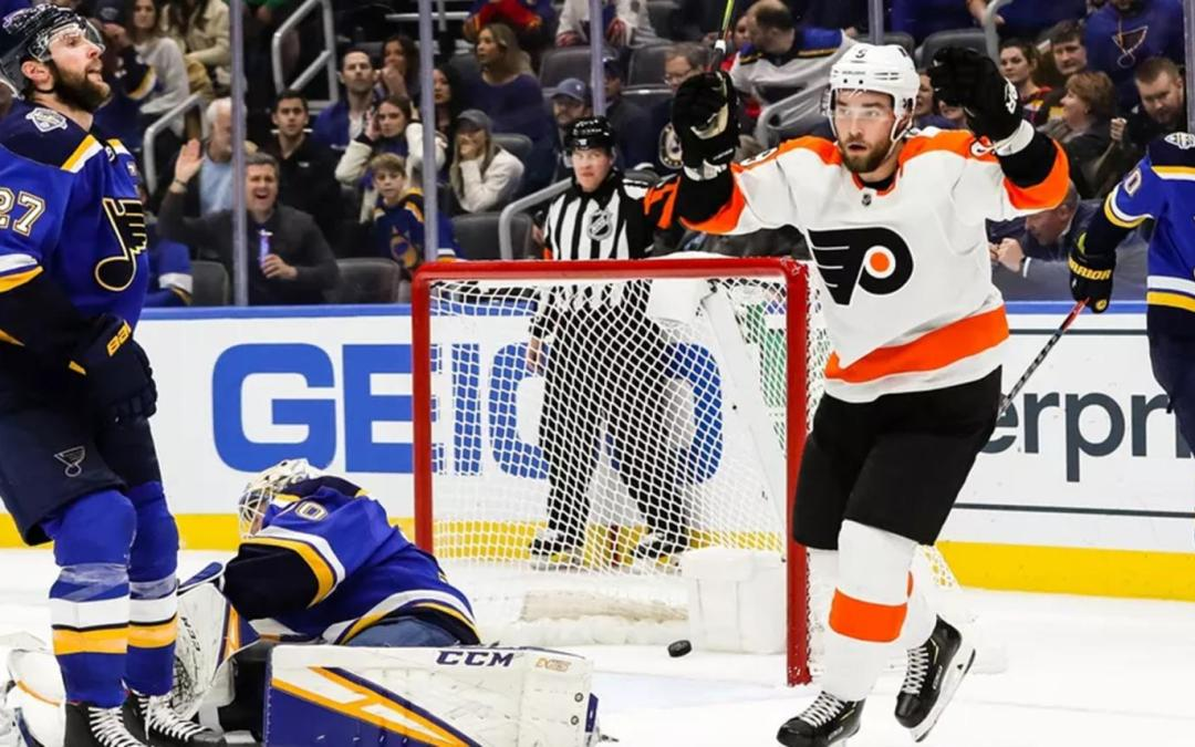 Voracek, Flyers Give St. Louis the Blues