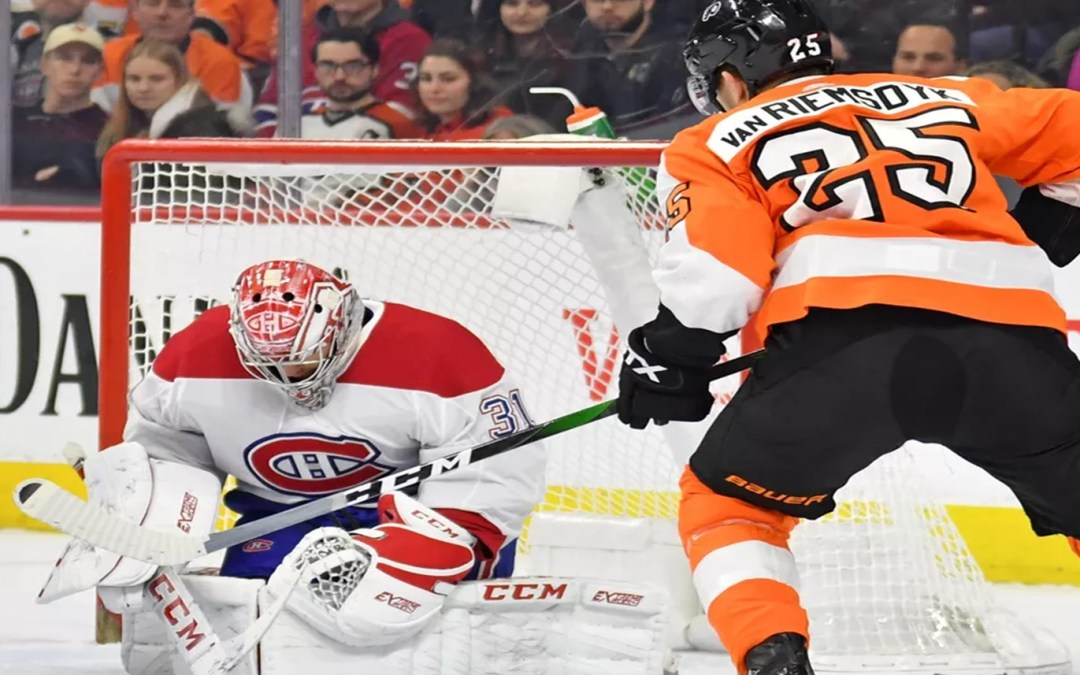 Canadiens Roast Flyers, 4-1